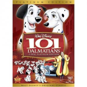 ON SALE: 101 Dalmatians (Platinum Edition) Kids Movie (2-Disc DVD 2008) for NZD 24.00