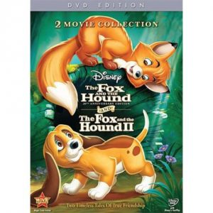 ON SALE: 2 Movie Collection: The Fox and the Hound AND The Fox and the Hound II Kids Movie (2-Disc DVD 2011) for NZD 24.00
