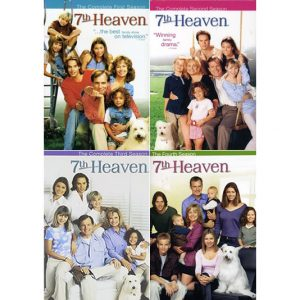 ON SALE: 7th Heaven Complete Series Seasons 1-4 (24-Disc DVD 2007) for NZD 71 .00