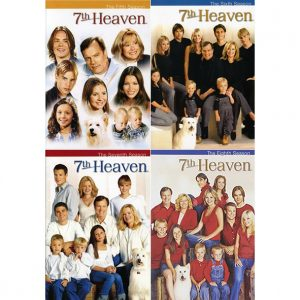ON SALE: 7th Heaven Complete Series Seasons 5-8 (22-Disc DVD 2009) for NZD 69 .00
