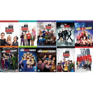 ON SALE: Big Bang Theory Complete Series Seasons 1-10 (30-Disc DVD 2017) for NZD 142 .00