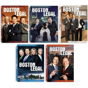ON SALE: Boston Legal Complete Series Seasons 1-5 (28-Disc DVD 2009) for NZD 112 .00
