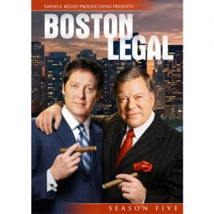 ON SALE: Boston Legal Season 5 (4-Disc DVD 2010) NZD 40.00