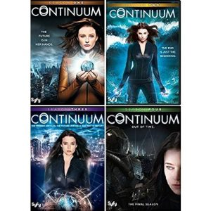 ON SALE: Continuum Complete Series Seasons 1-4 (10-Disc DVD 2016) for NZD 68 .00