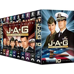ON SALE: JAG: Judge Advocate General Complete Series (55-Disc DVD 2010) for NZD 197 .00