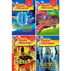 ON SALE: Popular Mechanics For Kids Complete Series (16-Disc DVD 2013) for NZD 74 .00