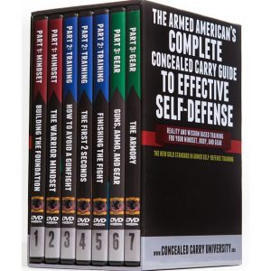 ON SALE: The Armed American's Complete Concealed Carry Guide to Effective Self-Defense (8-Disc DVD ) for NZD 94.00
