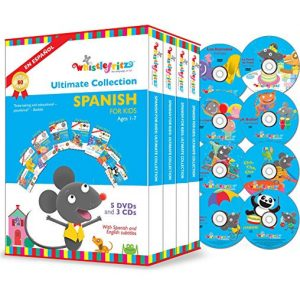 ON SALE: Whistlefritz - The Ultimate Collection Spanish for Kids (8-Disc DVD 2015) for NZD 85.00