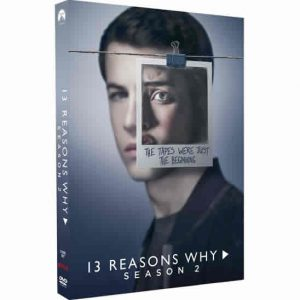 ON SALE: 13 Reasons Why Season 2 (3-Disc DVD 2018)