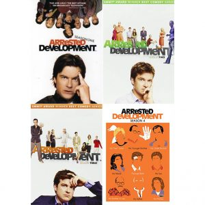 ON SALE: Arrested Development Complete Series Seasons 1-4 (11-Disc DVD 2014)
