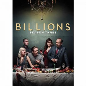 ON SALE: Billions Season 3 (4-Disc DVD 2018)