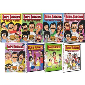 ON SALE: Bob's Burgers Complete Series Seasons 1-8 (21-Disc DVD 2018)