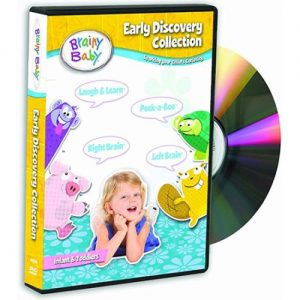 ON SALE: Brainy Baby Early Learning Collection (4-Disc DVD 2018) for NZD 36.00