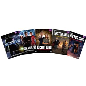 ON SALE: Doctor Who Complete Series Seasons 6-10 (26-Disc DVD 2017)