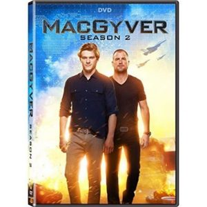 ON SALE: Macgyver Season 2 (5-Disc DVD 2018)