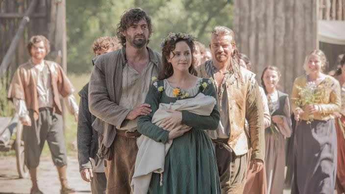 Period drama (TV) Jamestown review – new settlers make a splash in Virginia